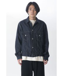 KURO/【KURO】KARLA DENIM JACKET ONE WASH/502829808