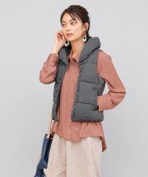 aimoha/ボリューミー襟中綿ベスト/502831446