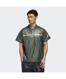 adidas/アディダス/メンズ/5T パデッドプラクティスジャケット半袖/502832441