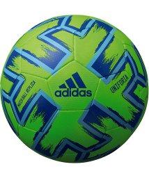 adidas/アディダス/キッズ/ユニフォリア ハイブリッド 緑色 4号球/502832630