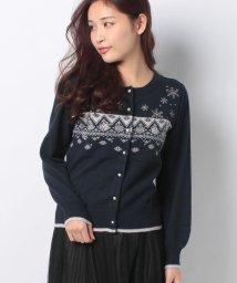 axes femme/雪刺繍×雪JQニットCD/502823705