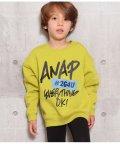 ANAP KIDS/手書きロゴプリントトレーナー/502833233