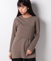 petit main LIEN/レイヤードTシャツ/502818963