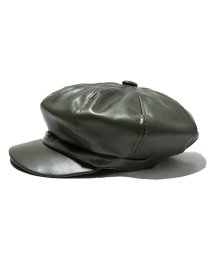 miniministore/キャスケット 帽子 レディース 人気 フェイクレザー キャスケット 合皮 マドロスハット/502833974