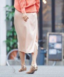qualite/【2020SS新作】ハンマーサテンタイトスカートパンツ【予約】/502834687