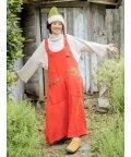 CAYHANE/【チャイハネ】エスニック柄サロペット ジャンパースカート 2WAY オレンジ/502835820