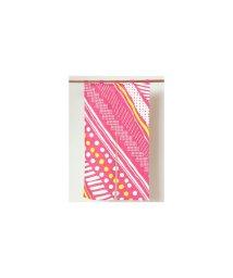 KAYA/【カヤ】幾何学模様 長暖簾 ピンク/502270102