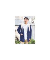 KAHIKO/【Kahiko】ボアMEN'Sフードジャケット ネイビー/502836090