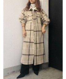 GYDA/オーバーサイズシャツコート/502836604