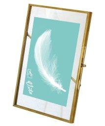 CREPHA PLUS/フォトフレーム インテリア ガラス 真鍮製フレーム ハンドメイド  【IPF-6001】/502837778