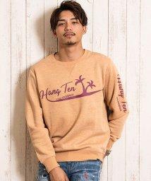 HANG TEN/HANG TEN【ハンテン】 メンズ 裏起毛プリントクルーネック 長袖 トレーナー/502837856