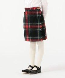 SHIPS KIDS/O'NEIL of DUBLIN:ウール ブラック スチュワート キルト スカート(100~140cm)/502837887