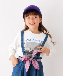 THE SHOP TK(KID)/【100~150cm】フォト風プリントロングTシャツ/502838001