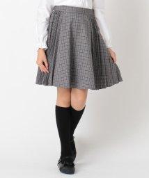 KUMIKYOKU KIDS/【150-170cm】プリーツチェックスカート/502838226