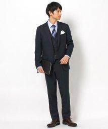 THE SHOP TK/【洗濯機OK】シャドーストライプ3ピーススーツ/結婚式、セレモニー、パーティー、ドレス、フォーマル/502838675