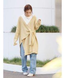 Ungrid/アシメデザインミドル丈ニットカーデ/502816354