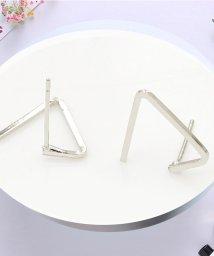 miniministore/ピアス レディース 三角形 おしゃれ アクセサリー シンプル 小物 耳飾り/502841279