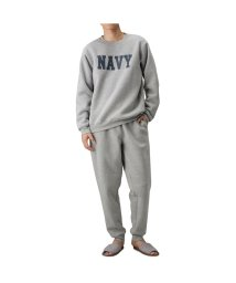 MAC HOUSE(men)/Navy ネイビー 裏起毛セットアップ 394110MH/502841393