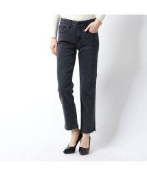 GUESS/ゲス GUESS SLIM STRAIGHT WASHED BLACK DENIM PANT (GREY)/502841509