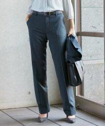 J.PRESS LADIES(LARGE SIZE)/【スーツ】BAHARIYEネイビー ストレートパンツ/502841742
