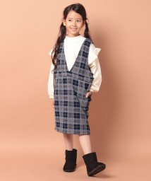 ikka kids/【キッズ】裏起毛ジャンスカ(120〜160cm)/502844402