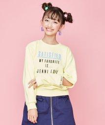 JENNI love/袖スリットロゴトレーナー/502844948