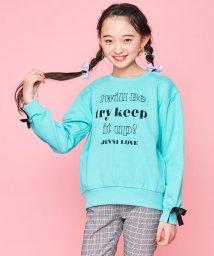 JENNI love/袖リボンロゴトレーナー/502844949