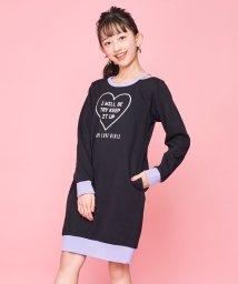 JENNI love/衿スリットリンガーワンピ/502845847