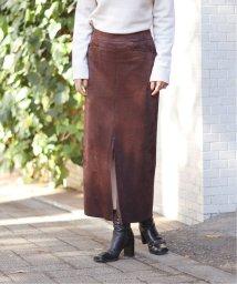 JOINT WORKS/フェイクスウェードタイトスカート◆/502846197