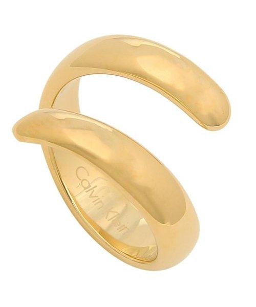 カルバンクライン リング アクセサリー CALVIN KLEIN KJ2KJR1001 EMBRACE RING レディース 指輪 ゴールド US8号(約15〜