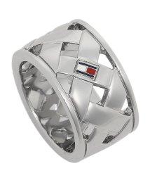 TOMMY HILFIGER/トミーヒルフィガー リング アクセサリー TOMMY HILFIGER 2701023 BASKET WEAVE RING レディース 指輪 シルバー 54(1/502749407