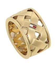 TOMMY HILFIGER/トミーヒルフィガー リング アクセサリー TOMMY HILFIGER 2701024 BASKET WEAVE RING レディース 指輪 ゴールド 54(1/502749408