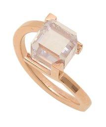 Calvin Klein/カルバンクライン リング アクセサリー CALVIN KLEIN KJ3HPR1401 DARING RING レディース 指輪 ピンクゴールド/クリア US6/502749433
