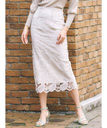 MERCURYDUO/ペイズリーレースタイトスカート/502793035