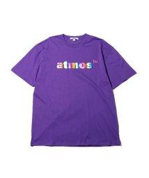 atmoslab/アトモス ロゴ フォイル プリント Tシャツ/502841270