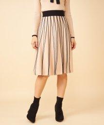 ROYAL PARTY/【セットアップ対応商品】配色プリーツニットスカート/502841636