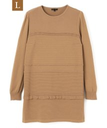 TO BE CHIC(L SIZE)/【L】ランダムフリルニット/502847485