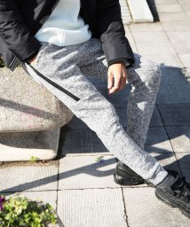 JIGGYS SHOP/ストレッチインナーフリースZIPラインジョガーパンツ / フリース 裏起毛 暖 パンツ ジョガー メンズ スウェット スエット ストレッチ/502847964