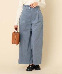 Couture Brooch/コーデュロイベルテッドパンツ/502848081
