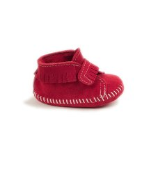MINNETONKA KIDS/FRONT STRAP BOOTIE Red【35700650】/502852043