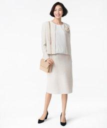 JIYU-KU /【マガジン掲載】カラミツイード セミタイトスカート(検索番号A24)/502852313