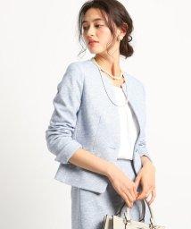 INDIVI/【ママスーツ/入学式 スーツ/卒業式 スーツ】ツィーディージャージジャケット/502852317