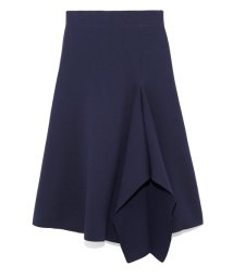Mila Owen/デザインヘムニットスカート/502853098