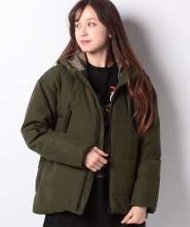 X-girl/WOOL RIP-STOP DOWN JACKET/502835002