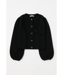 moussy/PUFF SLEEVE BUTTUN UP カーディガン/502853529