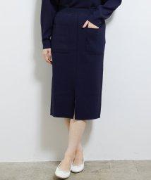 ROPE' PICNIC/【セットアップ対応】Iラインポケットニットスカート/502842940