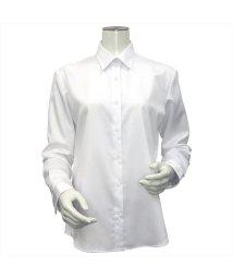 BRICKHOUSE/ウィメンズシャツ長袖形態安定 レギュラー衿 白系/502848283