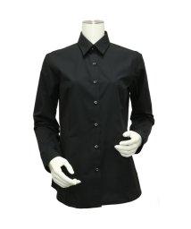 BRICKHOUSE/ウィメンズシャツ長袖形態安定 レギュラー衿 ブラック系/502848307