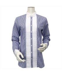 BRICKHOUSE/ウィメンズシャツ 長袖 形態安定  クレリック ワイド衿 ストライプ/502848342