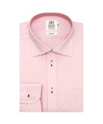 BRICKHOUSE/ワイシャツ長袖形態安定 ワイド ピンク系 スリム/502848506